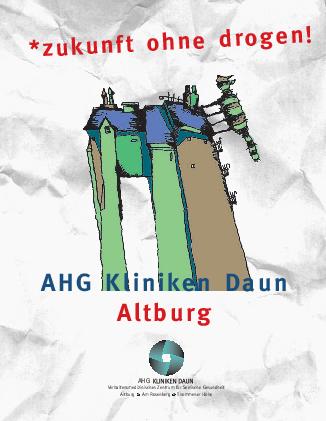 Altburgbroschüre Ein Angebot für junge Menschen - Zukunft ohne Drogen MEDIAN Kliniken Daun