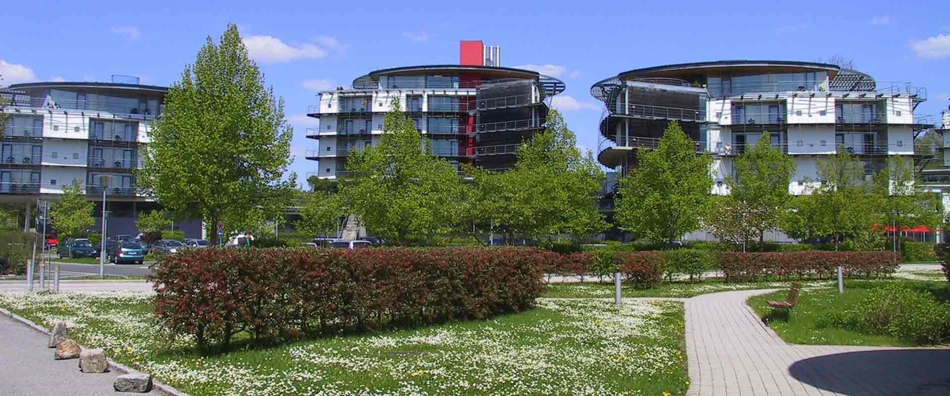 Außengebäude der MEDIAN Klinik Bad Colberg
