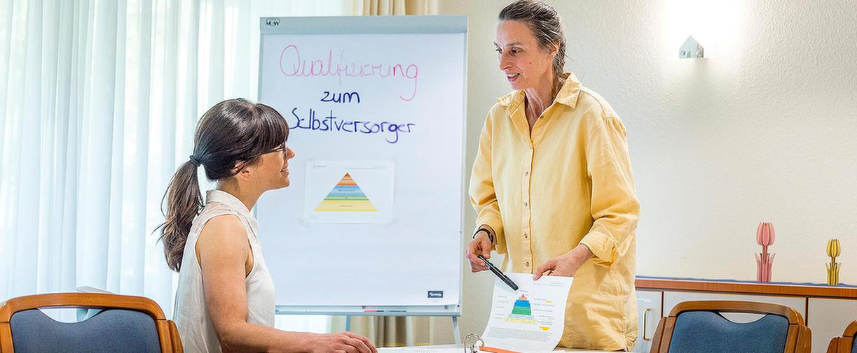 Vortrag als Eingliederungshilfe im MEDIAN Albert-Schweitzer-Haus Bad Dürkheim