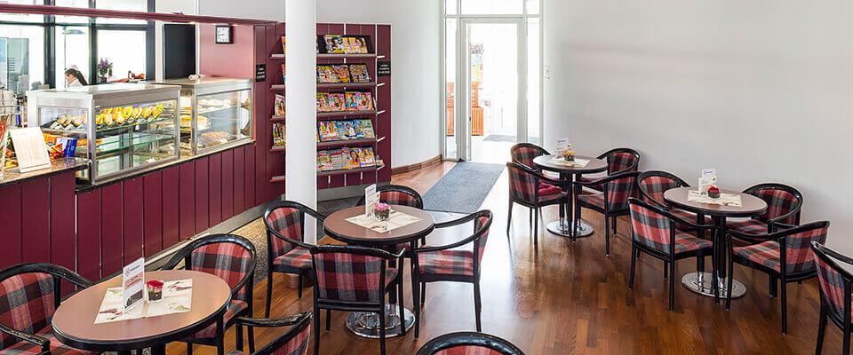 Café in der MEDIAN Park-Klinik Bad Dürkheim