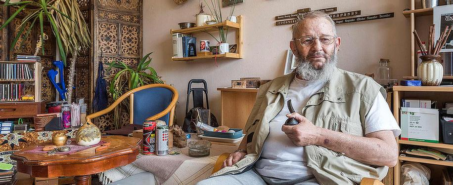 Patient in dem MEDIAN Soziotherapeutisches Zentrum Bad Dürkheim