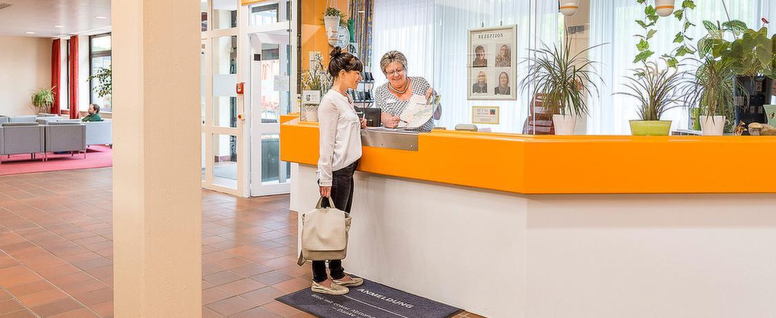 Anmeldung in der MEDIAN Klinik St. Georg Bad Dürrheim