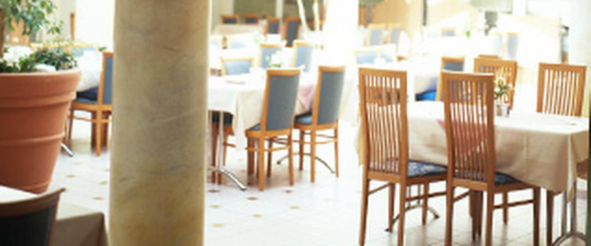 Speisesaal der MEDIAN Frankenpark Klinik Bad Kissingen