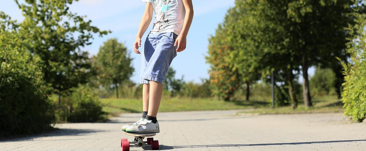 MEDIAN Klinik Freizeit und Umgebung Skateboarden
