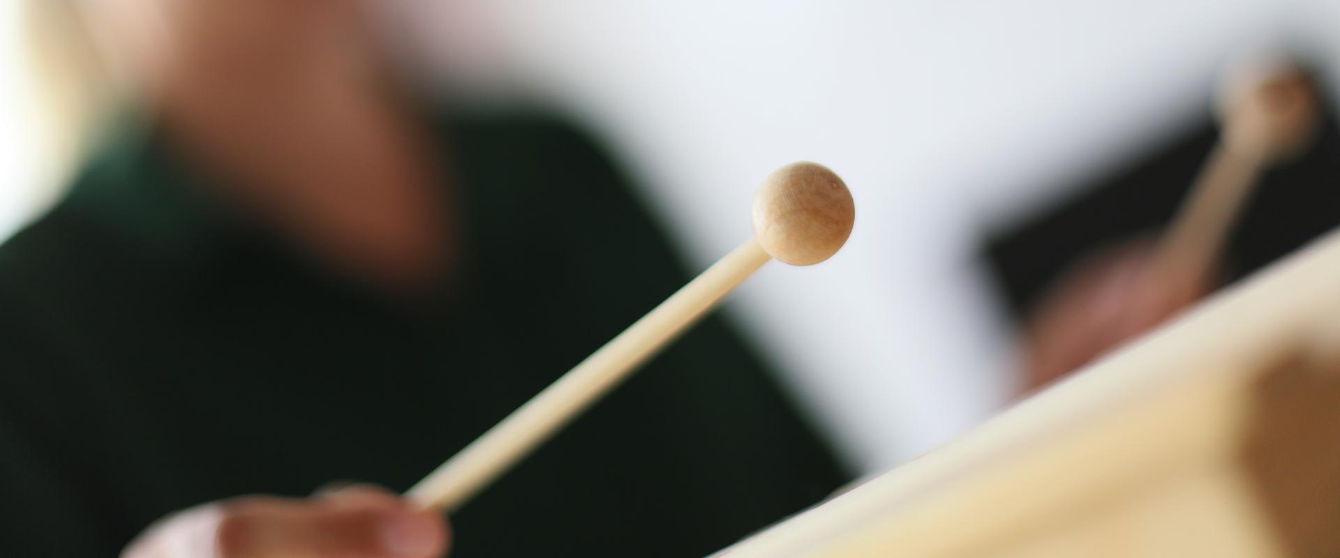Xylophonspieler in der MEDIAN Kinder- und Jugendklinik Beelitz
