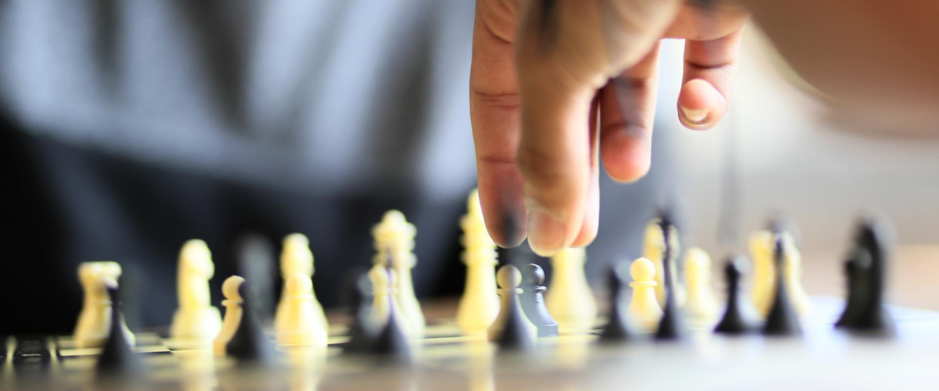 Schachspiel im MEDIAN Therapiezentrum Loherhof