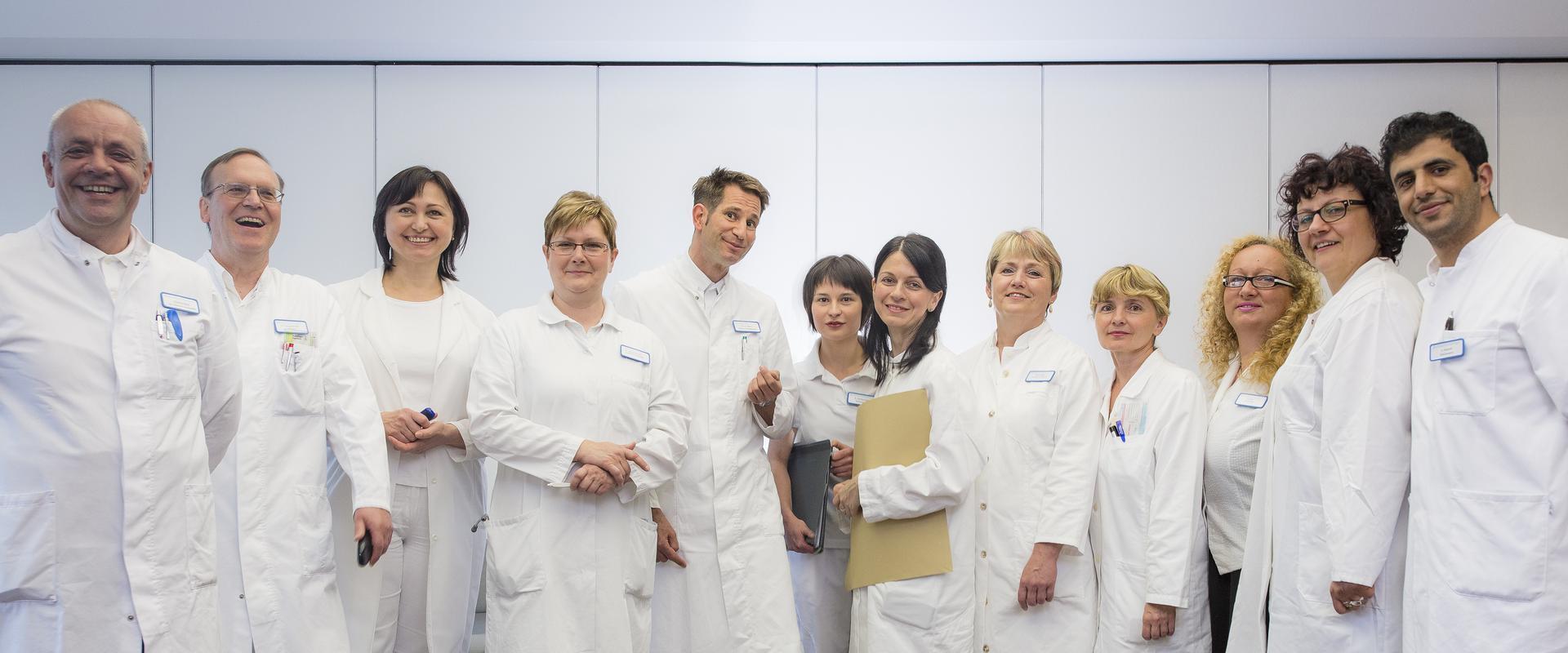 Gruppenfoto der Ärzte in der MEDIAN Klinik Bad Lausick