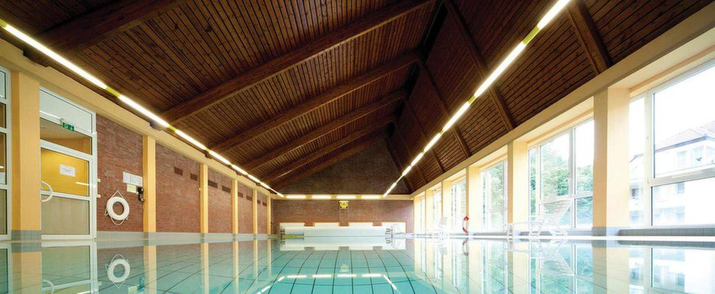 Schwimmbad in der MEDIAN Heinrich-Mann-Klinik Bad Liebenstein