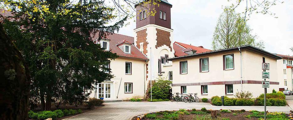 Außenansicht der MEDIAN Psychotherapeutische Klinik Bad Liebenwerda