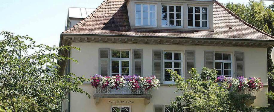 Ein Haus das zur MEDIAN Klinik Hohenlohe Bad Mergentheim gehört