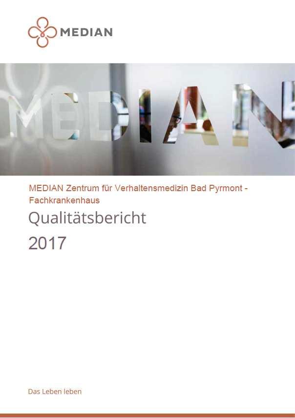 Qualitätsbericht 2017 des MEDIAN Zentrum für Verhaltensmedizin Bad Pyrmont – Fachkrankenhaus