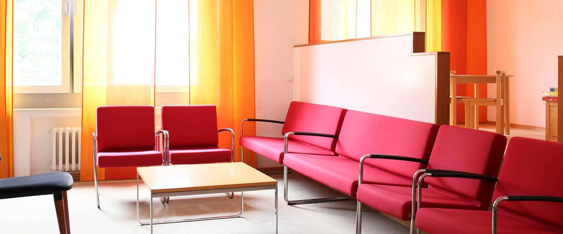 Aufenthaltsraum im MEDIAN Zentrum für Verhaltensmedizin Bad Pyrmont Klinik für Psychosomatik