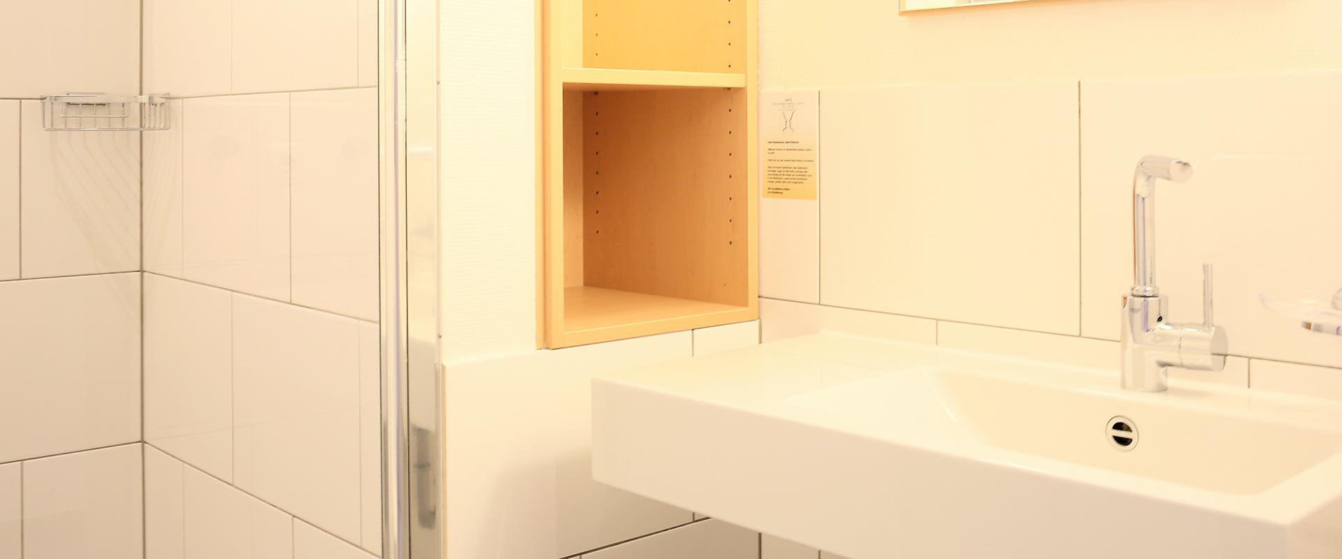 Badezimmer im MEDIAN Zentrum für Verhaltensmedizin Bad Pyrmont Klinik für Psychosomatik