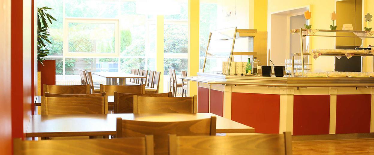 Speisesaal des MEDIAN Zentrum für Verhaltensmedizin Bad Pyrmont – Klinik für Psychosomatik