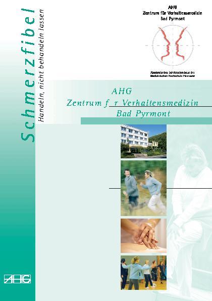 Infoflyer Schmerzfibel des MEDIAN Zentrum für Verhaltensmedizin Bad Pyrmont Klinik für Psychosomatik