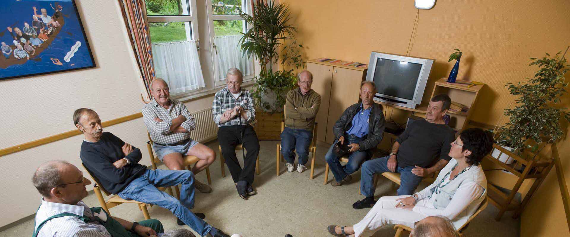 Gruppentherapie im MEDIAN Therapiezentrum Bassenheim