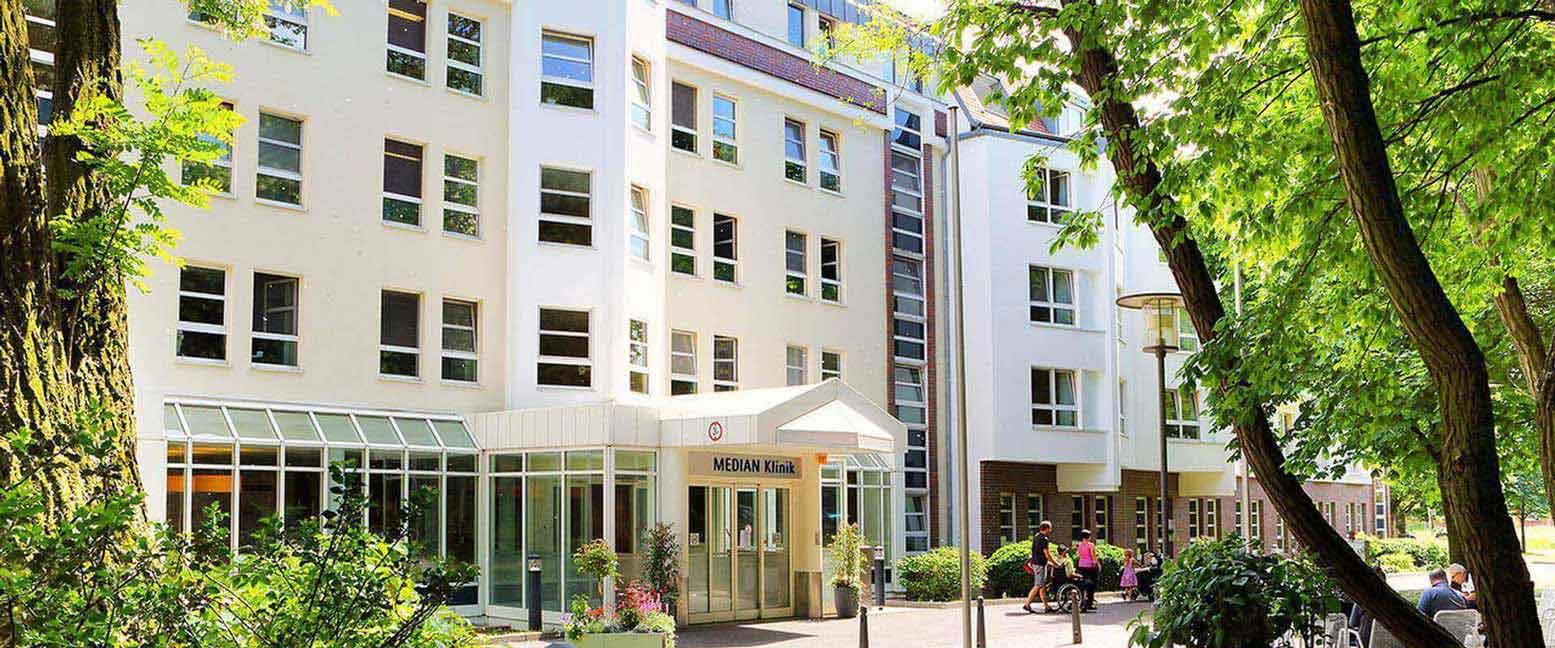 MEDIAN Klinik Berlin-Kladow Außenansicht