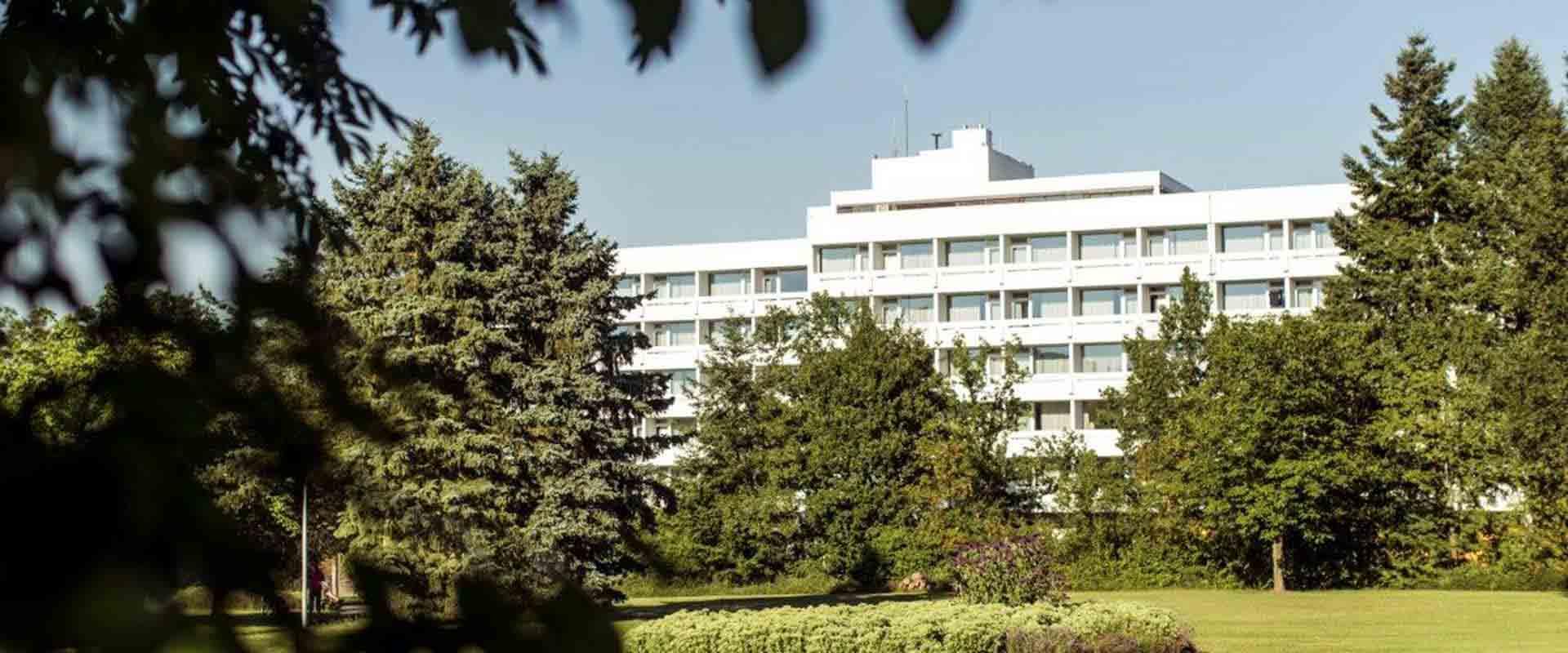 Gebäude des MEDIAN Reha-Zentrums Bernkastel-Kues Klinik Bernkastel