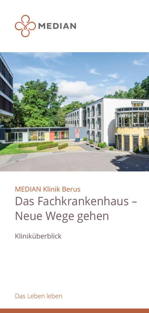 Fachkrankenhaus - Kliniküberblick der MEDIAN Klinik Berus – Fachkrankenhaus