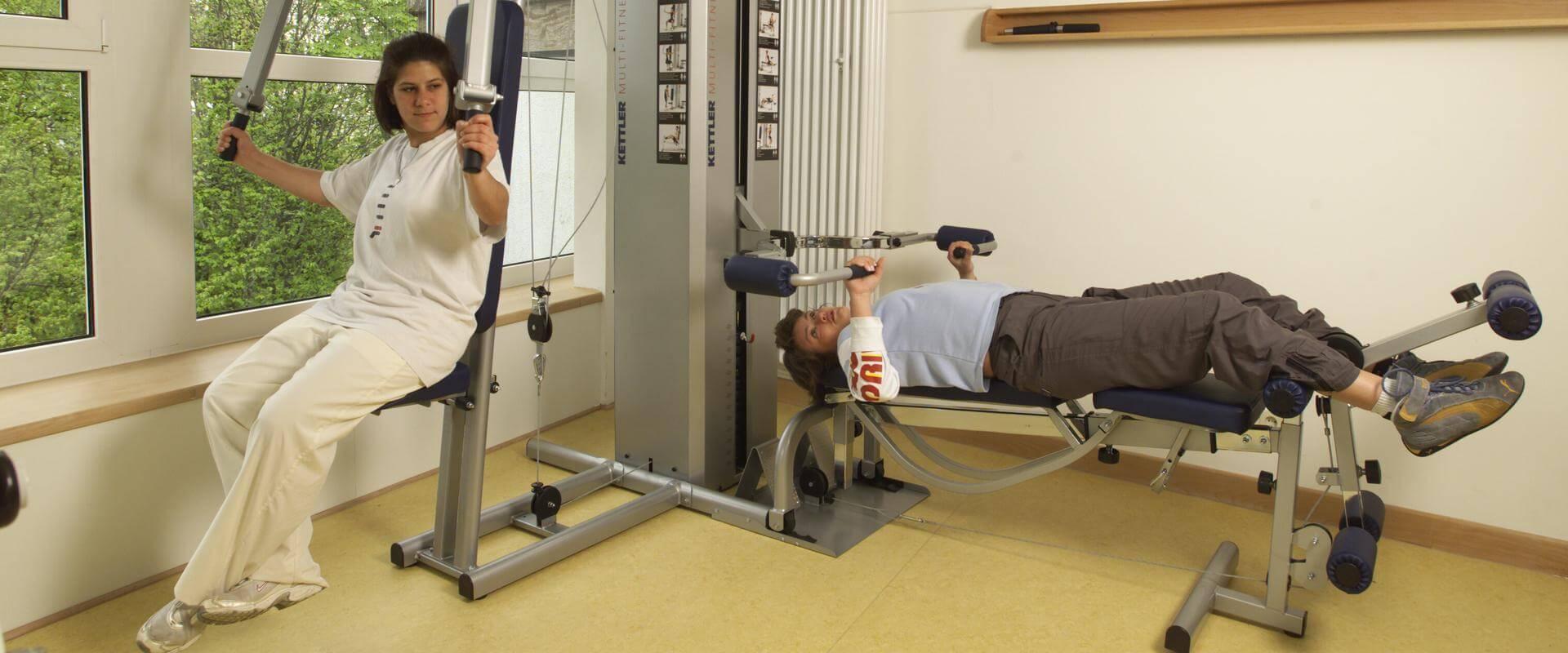 MEDIAN Kliniken Daun Altburg Fitnessraum