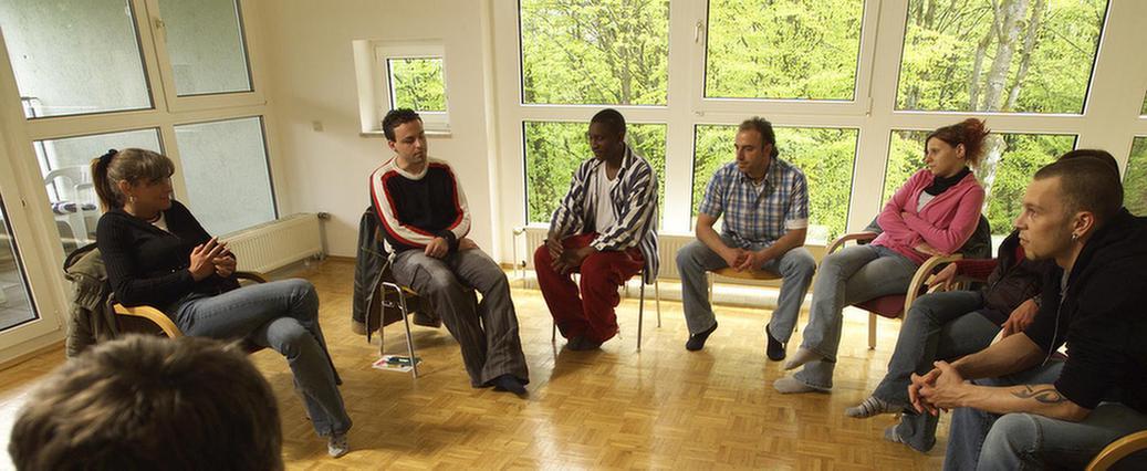 Gruppentherapie in der MEDIAN Klinik Odenwald
