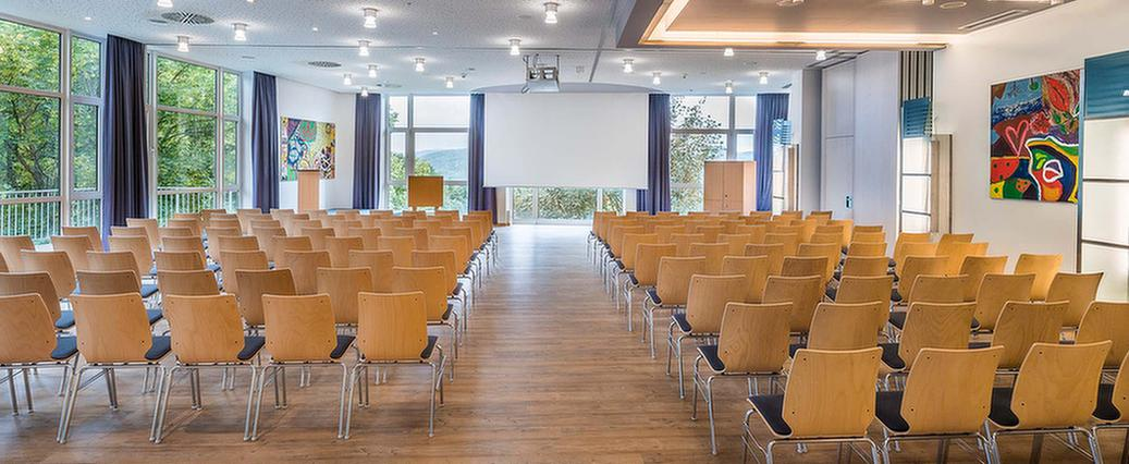 Vortragssaal in der MEDIAN Klinik Daun Am Rosenberg