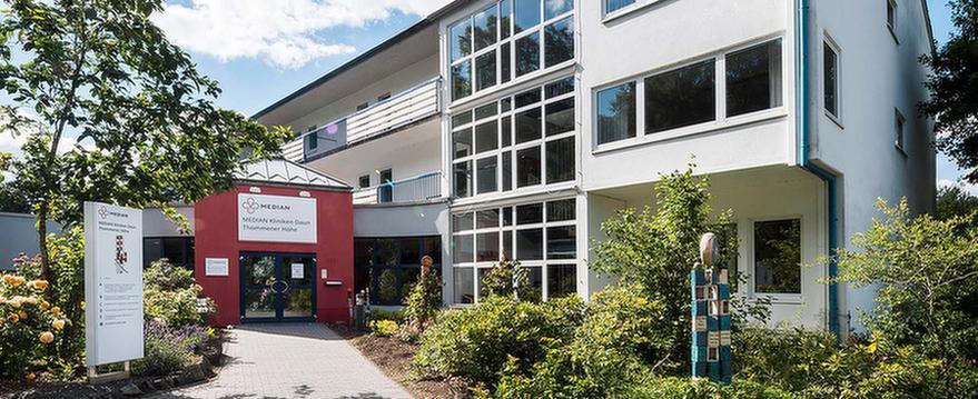 Eingangsbereich der MEDIAN Klinik Daun - Thommener Höhe