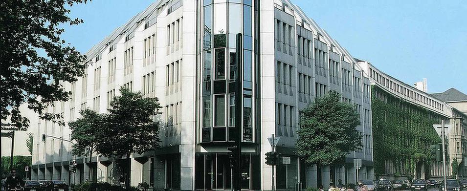 MEDIAN Ambulantes Gesundheitszentrum Düsseldorf Gebäude
