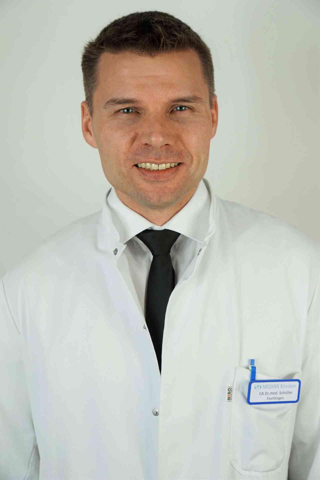 Dr. med. Per Otto Schüller Chefarzt der Abteilungen Kardiologie und Pneumologie in der MEDIAN Klinik Flechtingen