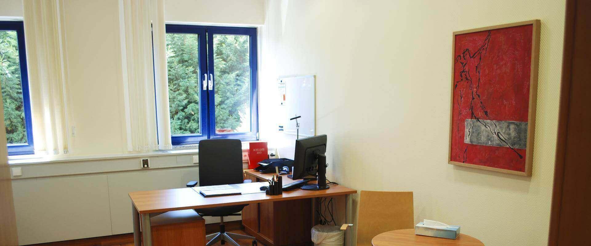 Anmeldung in der MEDIAN Tagesklinik Grünstadt