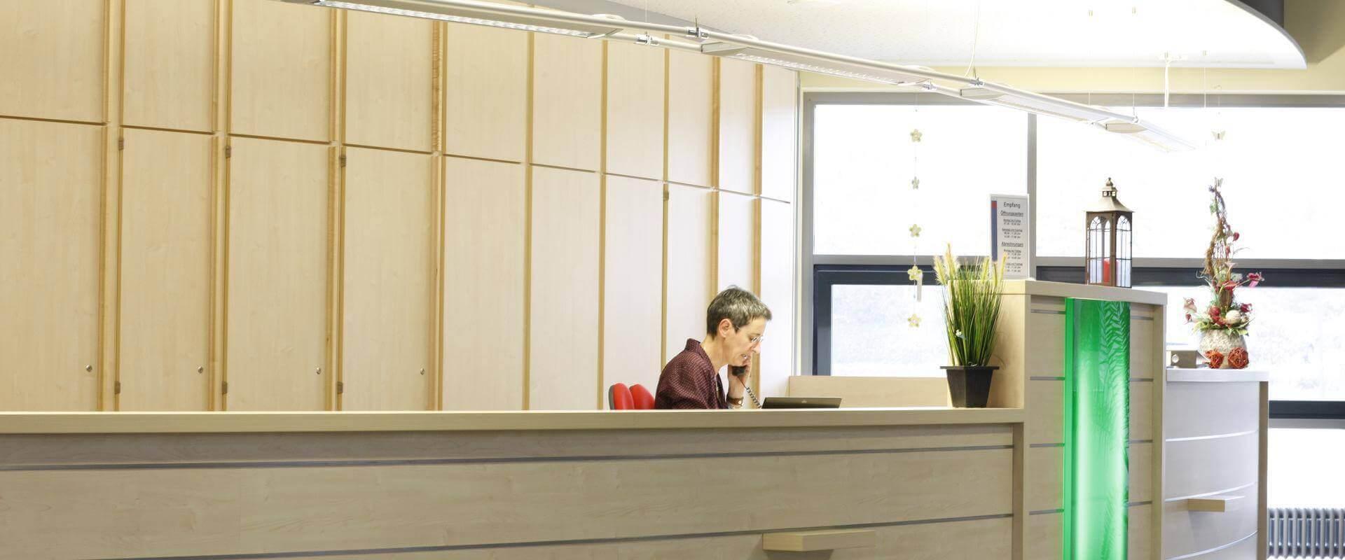 Anmeldung und Aufnahme in der MEDIAN Klinik Gyhum