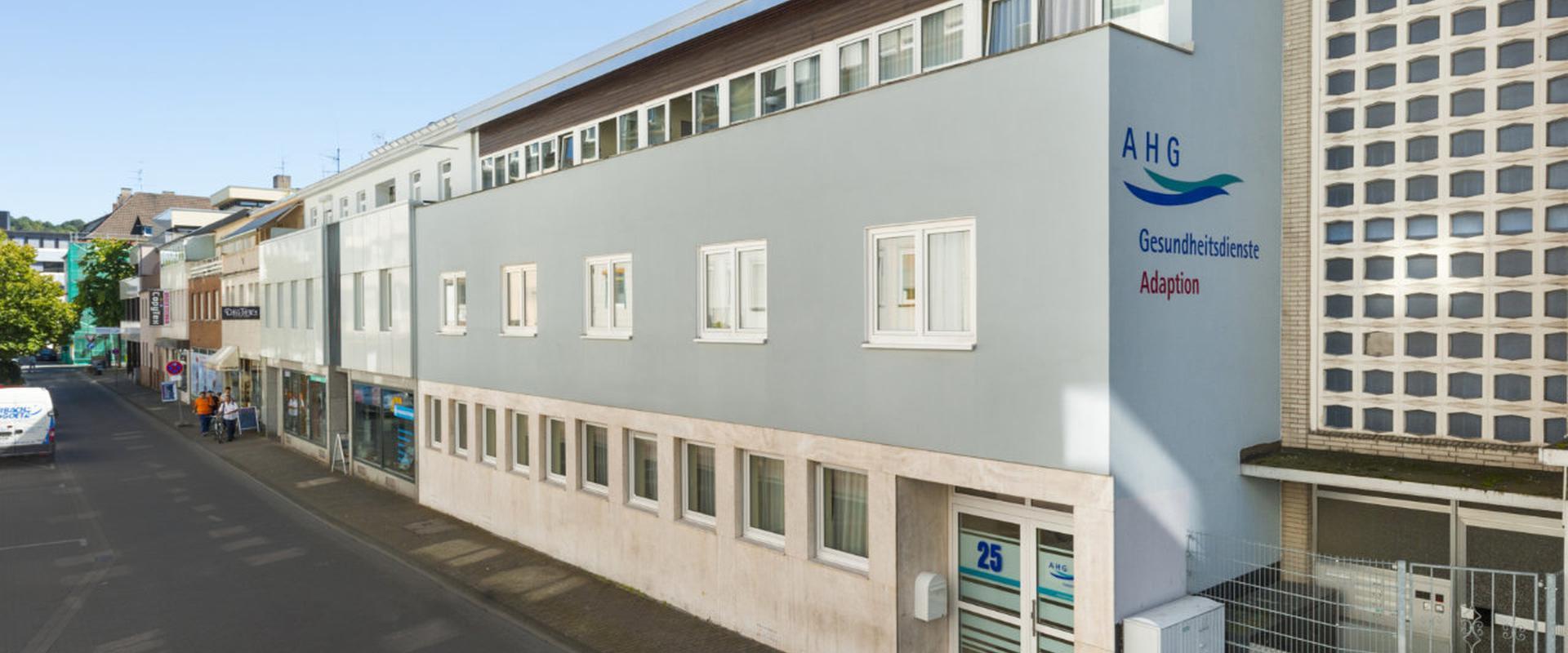 Fassade der MEDIAN Gesundheitsdienste Koblenz