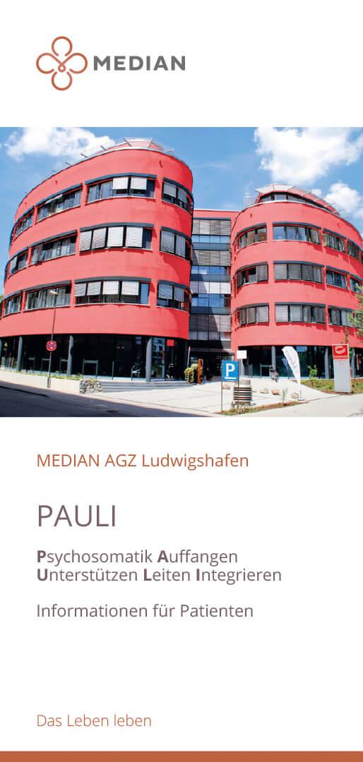 Informationen zu PAULI - Psychosomatik Auffangen Unterstützen Leiten Integrieren des MEDIAN AGZ a. d. Weinstraße Bad Dürkheim