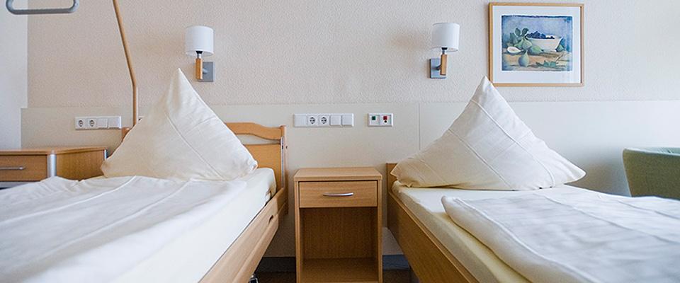 Zimmer in der MEDIAN Klinik Mühlengrund Bad Wildungen