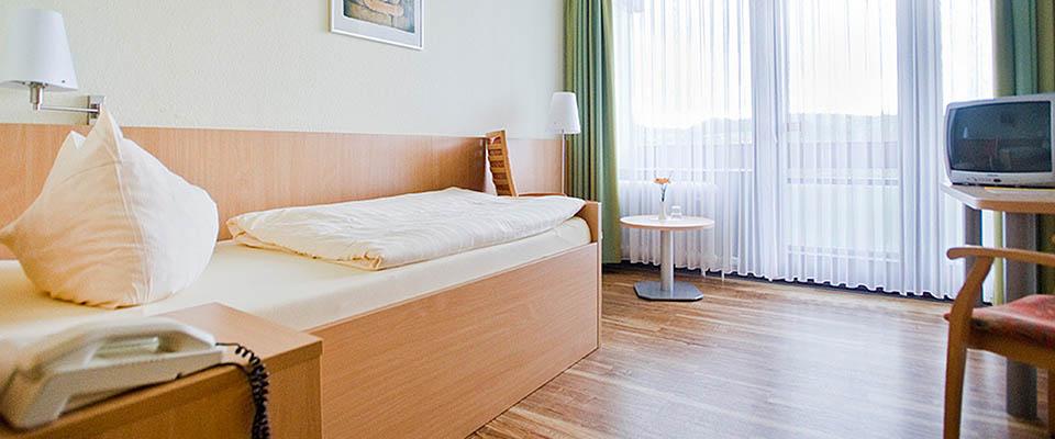Zimmer 3 in der MEDIAN Klinik Mühlengrund Bad Wildungen