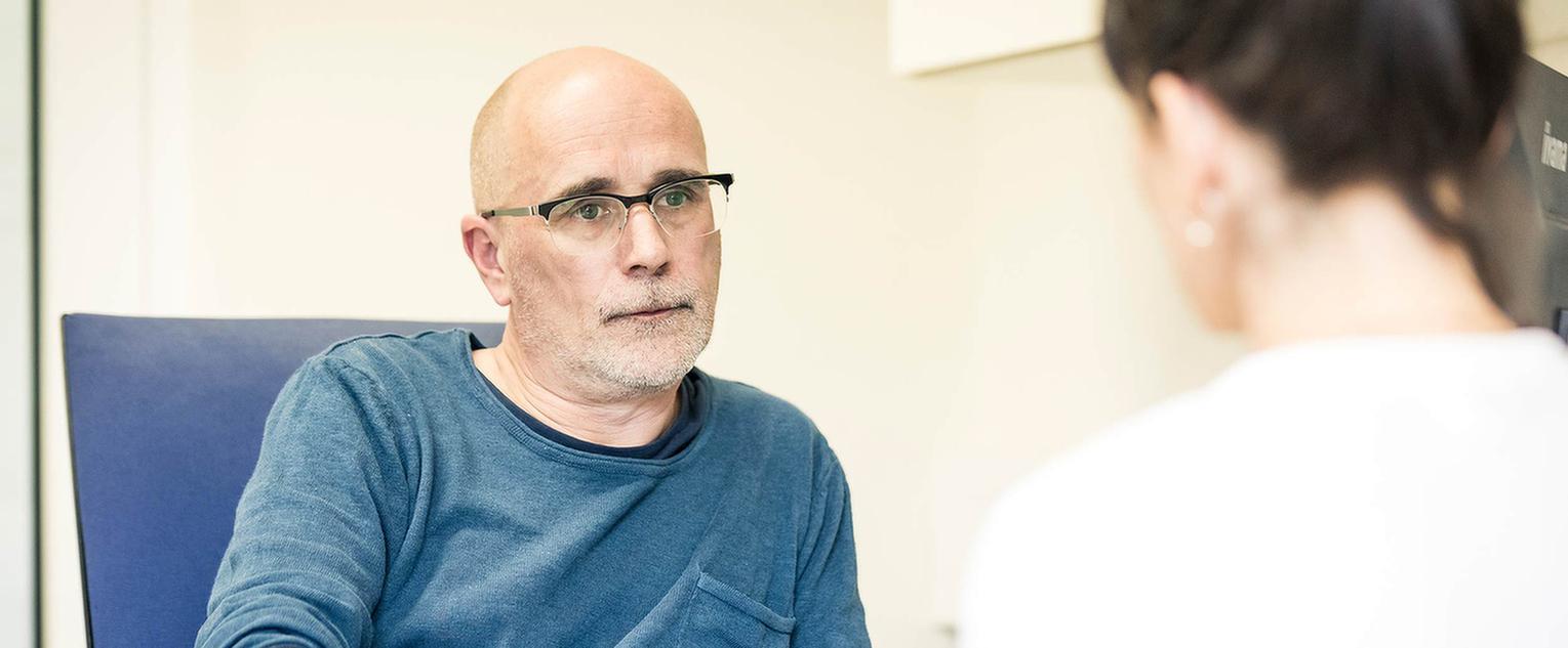 Patient der MEDIAN Franz-Alexander-Klinik Nordrach