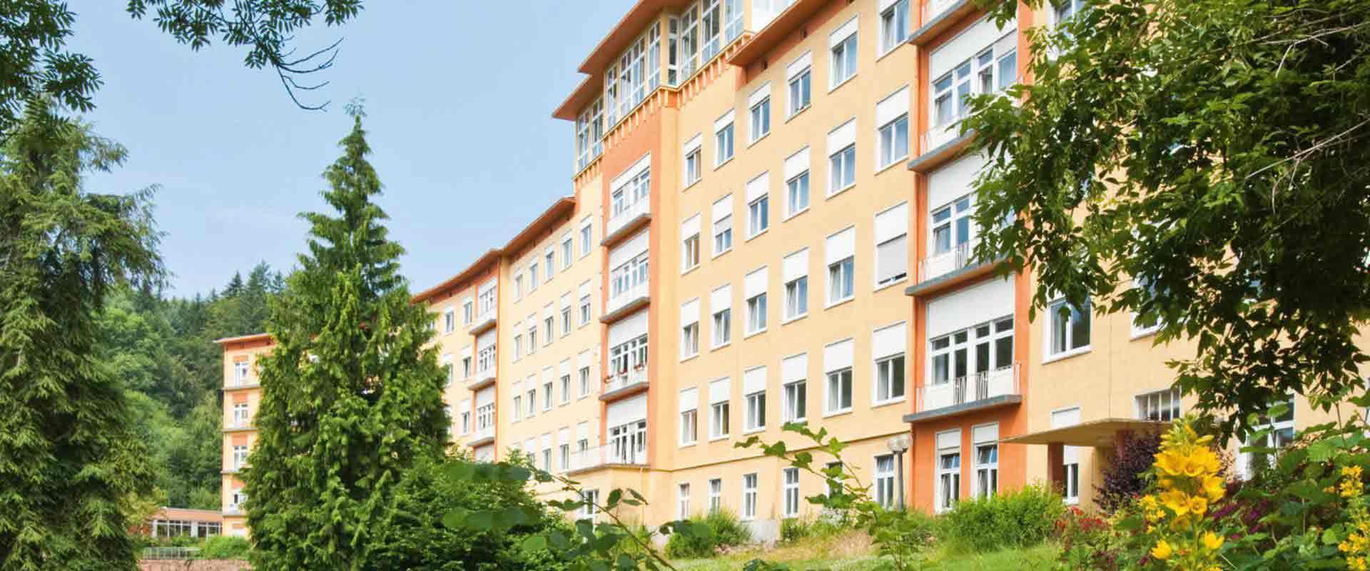 Fassade der MEDIAN Klinik Odenwald - Fachkrankenhaus