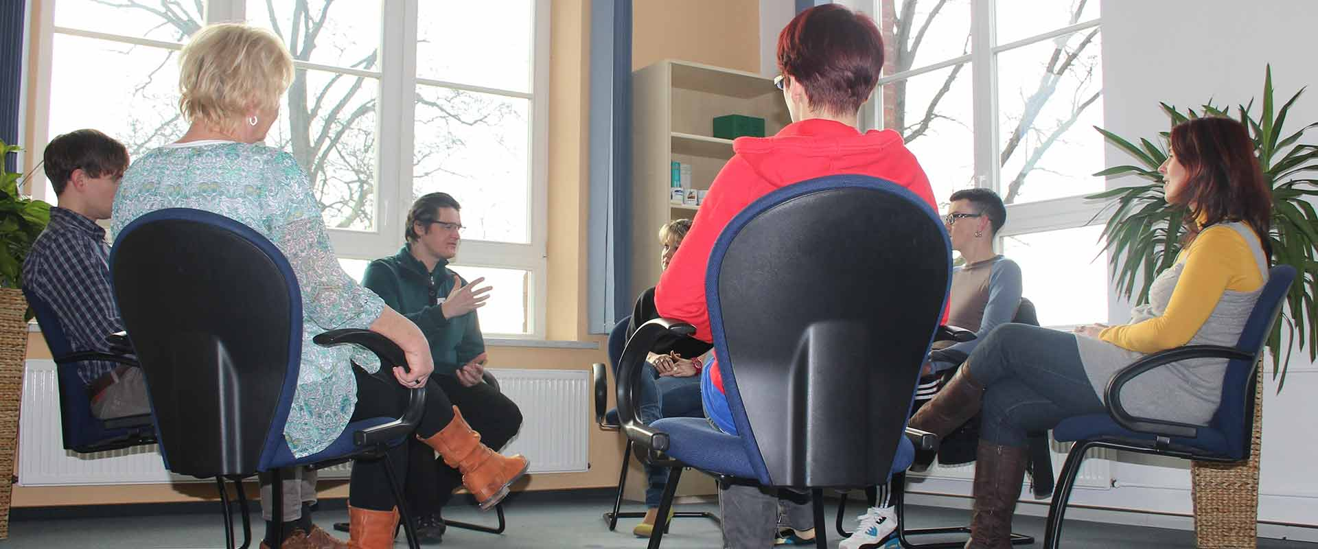 Gruppentherapie in der MEDIAN Klinik Römhild