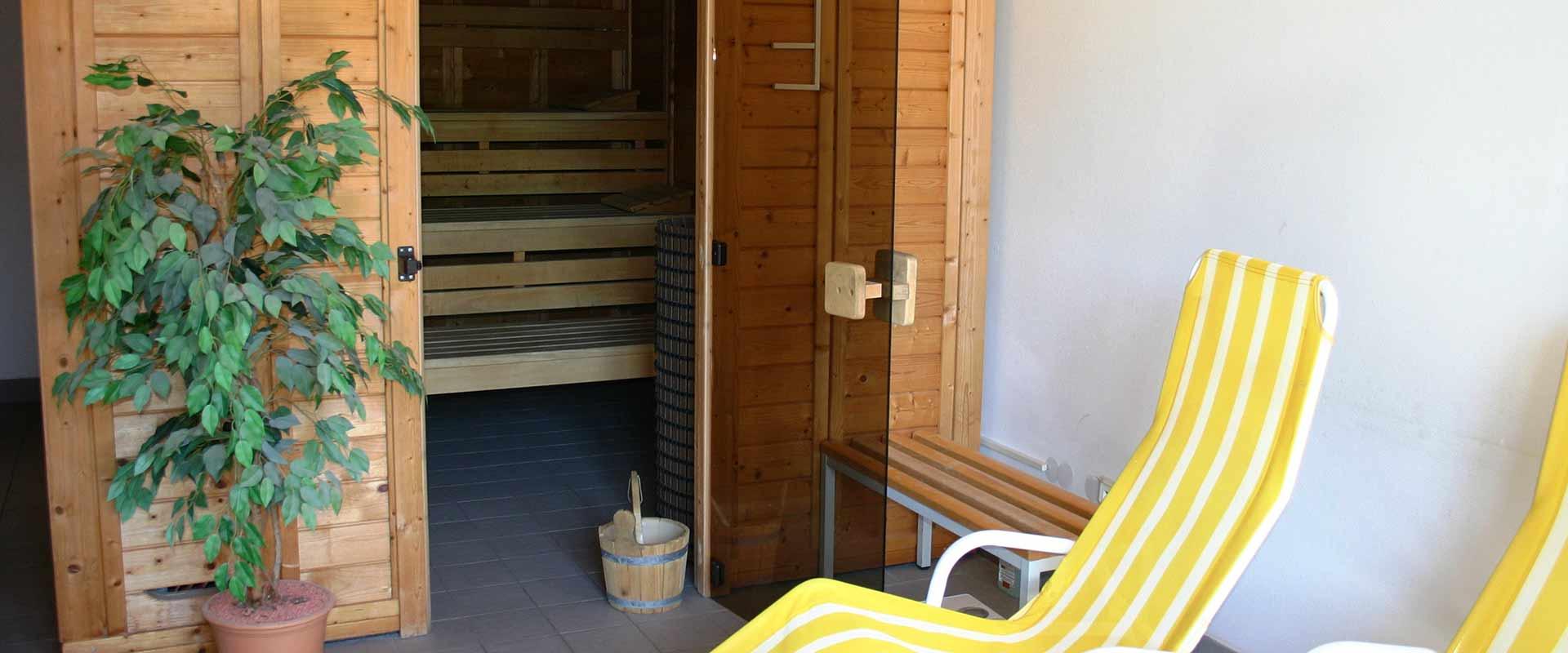 Unsere Sauna in der MEDIAN Klinik Römhild