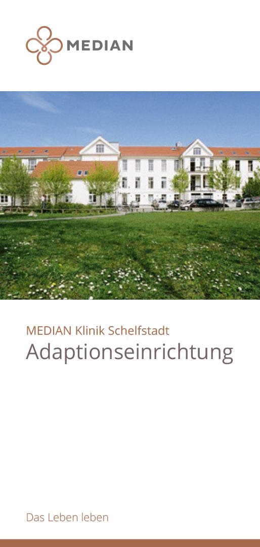 Infobroschüre Adaptionseinrichtung der MEDIAN Klinik Schelfstadt