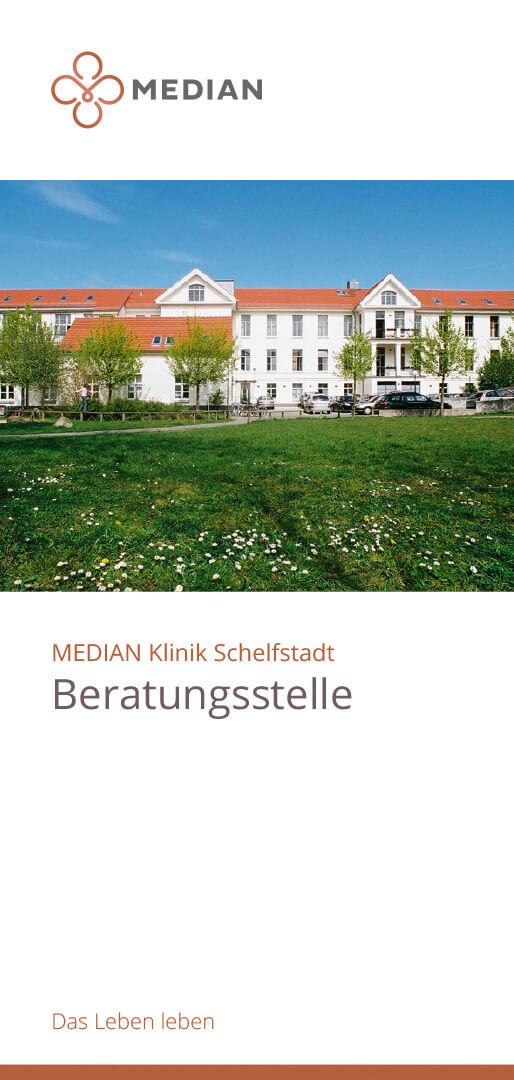 Infoflyer Beratungsstelle der MEDIAN Klinik Schelfstadt