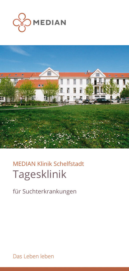 Infoflyer Tagesklinik der MEDIAN Klinik Schelfstadt