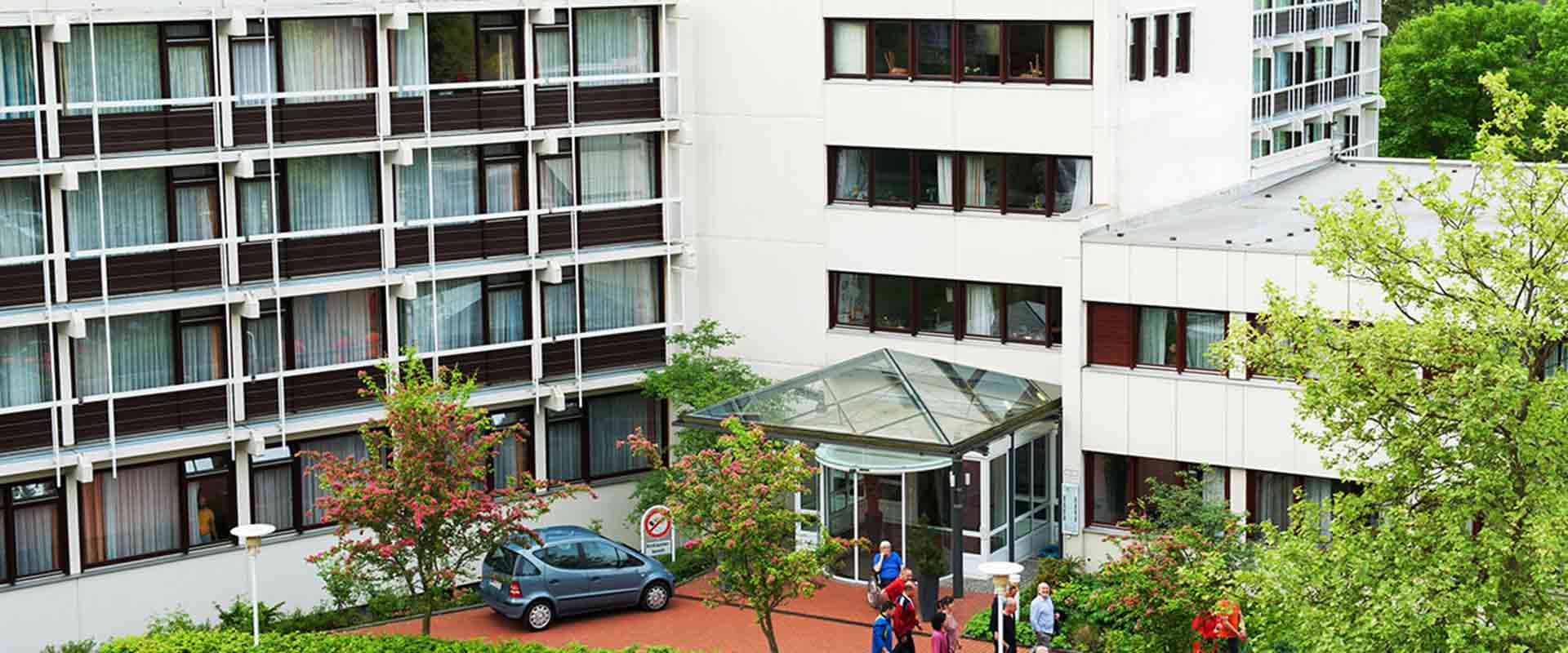 Gebäude MEDIAN Klaus-Miehlke-Klinik Wiesbaden
