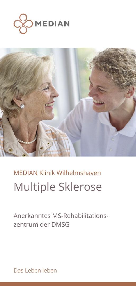 Infobroschüre Multiple Sklerose der MEDIAN Klinik Wilhelmshaven