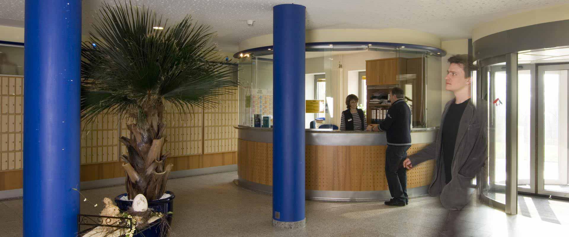 MEDIAN Klinik Wilhelmsheim Empfangsbereich