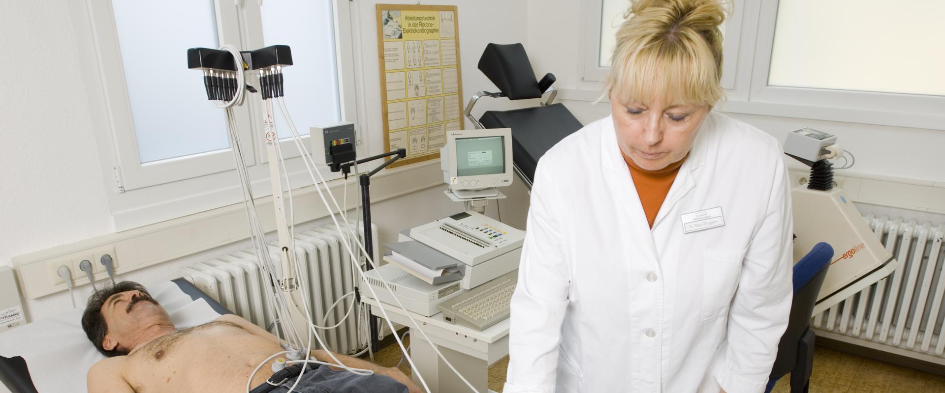 Patient wird behandelt in der MEDIAN Klinik Wilhelmsheim