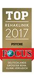 Qualitätssiegel Focus Top Rehaklinik 2017 des MEDIAN Zentrum für Verhaltensmedizin Bad Pyrmont