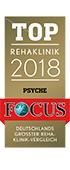 Focus Zertifikat Top Rehaklinik des MEDIAN Zentrum für Verhaltensmedizin Bad Pyrmont Klinik für Psychosomatik