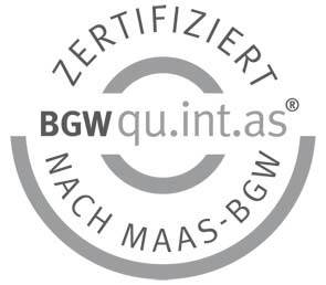 BGW-Zertifikat der MEDIAN Klinik am Burggraben Bad Salzuflen