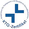 Qualitätssiegel der MEDIAN Klinik Mühlengrund Bad Wildungen KTQ-Zerfikfikat